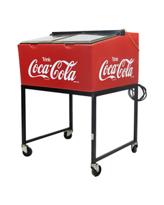 Coca-Cola Vintage German Trink Plastic Cooler