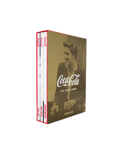 Coca-Cola Book Set of 3 - Music, Sports, Film