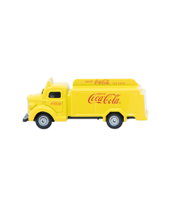 Coca-Cola Yellow 1947 Delivery Toy Truck
