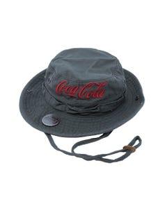 Coca-Cola Canvas Olive Boonie Hat
