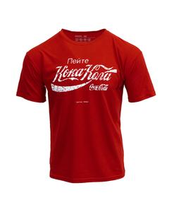 Coca-Cola Russian Script Men's Tee