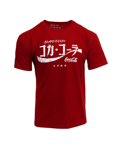 Coca-Cola Japanese Script Men's Tee