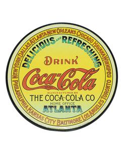 Coca-Cola Keg Label Metal Sign