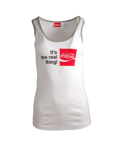 Coca-Cola Real Thing Ladies Jr. Tank