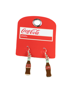 Coca-Cola Bottle Earrings