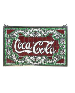 Coca-Cola Script Suncatcher - 24x15