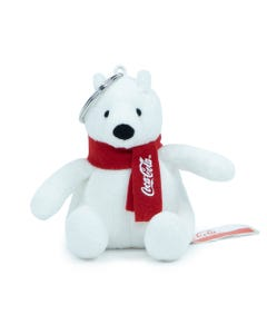 Coca-Cola Polar Bear Plush Keychain