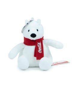 Coca-Cola Polar Bear Plush Keychain