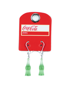 Coca-Cola Green Bottle Earrings
