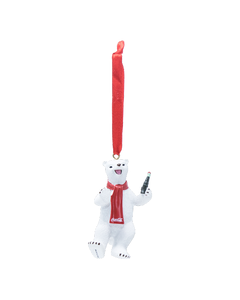 Coca-Cola Polar Bear Resin Ornament