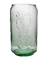 Coca-Cola Can Green Glass - 11oz