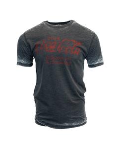 Coca-Cola Delicious & Refreshing Burnout Men's Tee