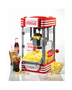 Coca-Cola Tabletop Kettle Popcorn Popper