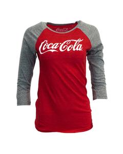 Coca-Cola Women's Triblend Raglan Tee