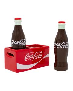 Coca-Cola Salt/Pepper Set In Crate