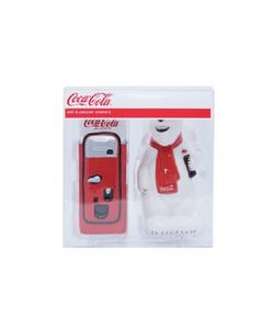 Coca-Cola Salt/Pepper Set- Polar Bear & Vending Machine