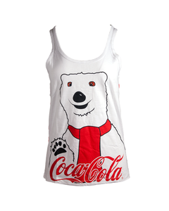 Coca-Cola Polar Bear Ladies Jr. Tank