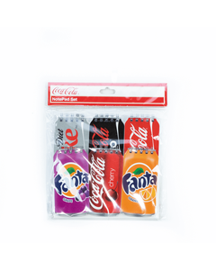 Coca-Cola Multi Brands Notepad Set