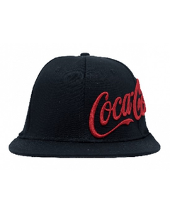 Coca-Cola Black Intruder Baseball Cap