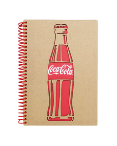 Coca-Cola Bottle Notebook