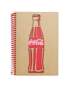 Coca-Cola Bottle Notebook