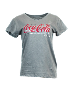 Coca-Cola Delicious & Refreshing Women's V-Neck Tee