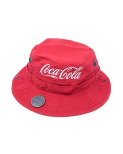 Coca-Cola Canvas Red Boonie Hat