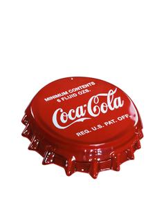 Coca-Cola Bottle Cap Metal Sign