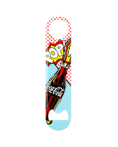 Coca-Cola Pop Fizz Art Flat Opener