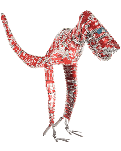 Acacia Creations Coca-Cola Can Dinosaur