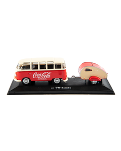 Coca-Cola 1962 VW Bus W/Trailer
