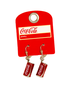 Coca-Cola Luxe Can Earrings