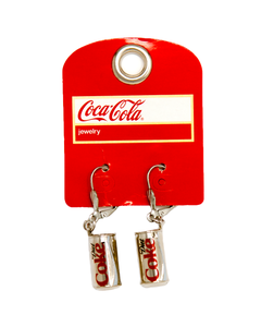 Diet Coke Luxe Can Earrings