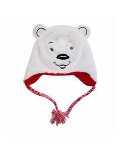 Coca-Cola Polar Bear Peruvian Fur Hat
