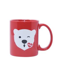 Coca-Cola Polar Bear Emoji Mug - 14oz