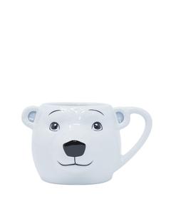 Coca-Cola Polar Bear Sculpted Head Mug - 22oz