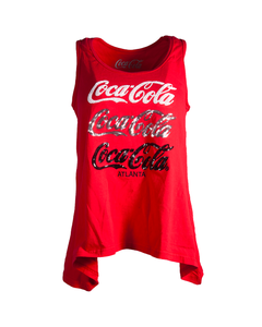 Coca-Cola Women's Sequin Tank
