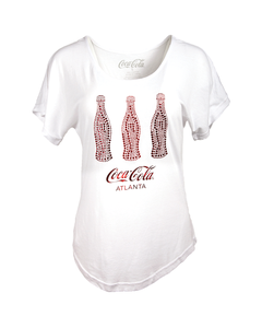 Coca-Cola 3 Bottle Bling Women's Tee