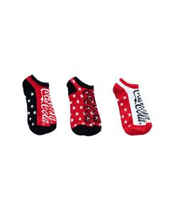 Coca-Cola Stars Women's Socks - 3PK