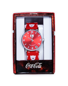 Coca-Cola Polar Bear Emoji Watch
