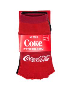 Coca-Cola Women's Yoga Socks 2PK