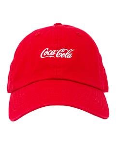 Coca-Cola White Script Cap