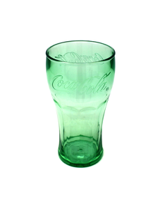 Coca-Cola Genuine Plastic Drinking Glass W/Lid - 17oz
