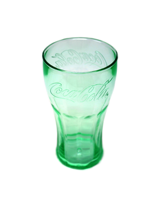 Coca-Cola Genuine Plastic Drinking Glass W/Lid - 24oz