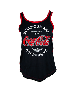 Coca-Cola D&R Ladies Jr. Tank
