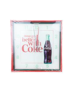 Coca-Cola Square Wall Clock