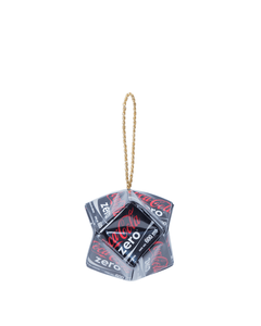 Coke Zero Mitz Label Ornament - Large