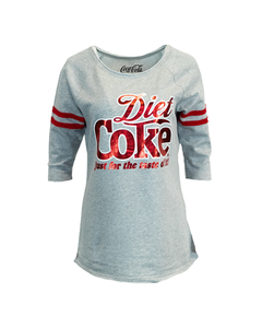 Diet Coke Women's Raglan Pullover Top