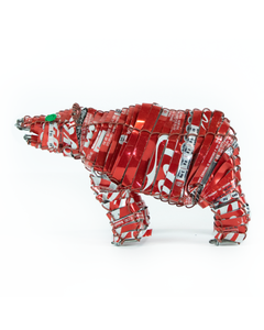 Coca-Cola Polar Bear Canimal Acacia Creations