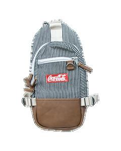 Coca-Cola Cross Body Striped Mini Backpack